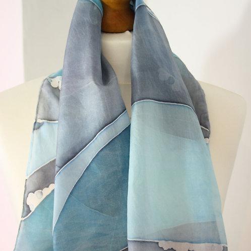 Seascape Silk Scarf