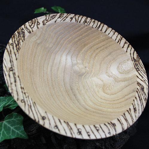 Oak Vessel with Edge Design