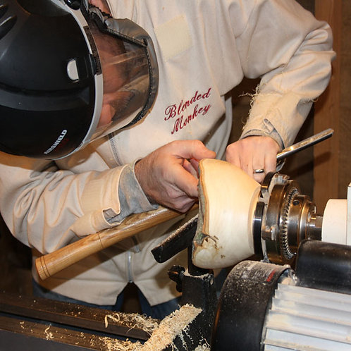 1-person 1-day Woodturning Tuition