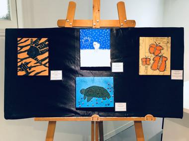 Peinture, animaux et pollution