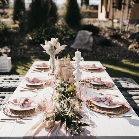 Dreamy Outdoor Tablescape