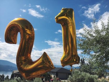 My 21st Birthday Celebration