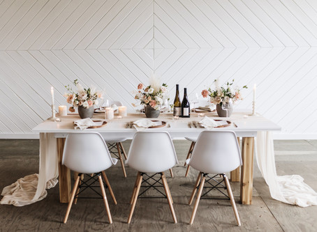 The Pool Room Styled Shoot