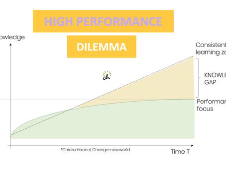 The high performance dilemma