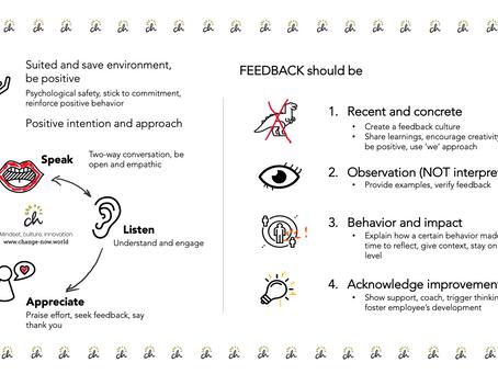 How to provide inspiring feedback.