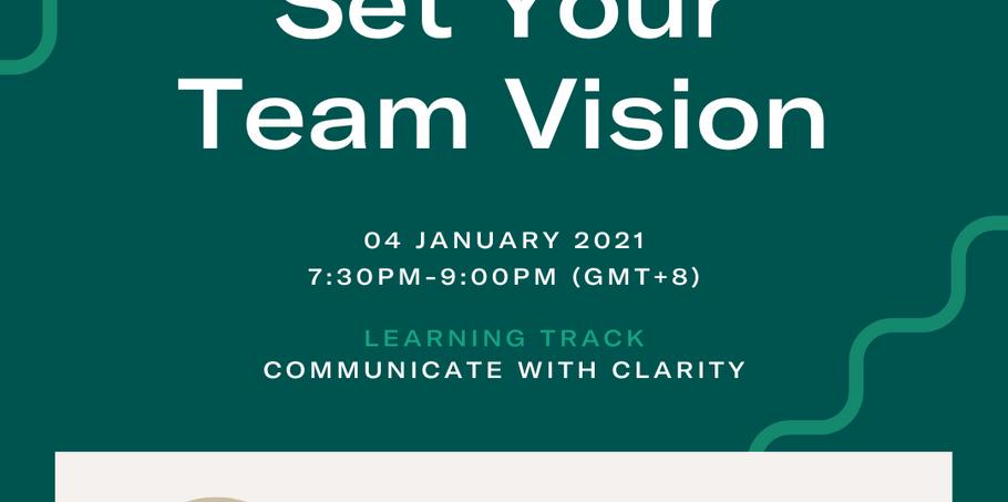 Set your team vision