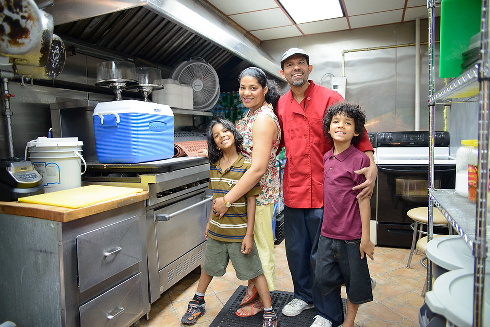 Family-run small business