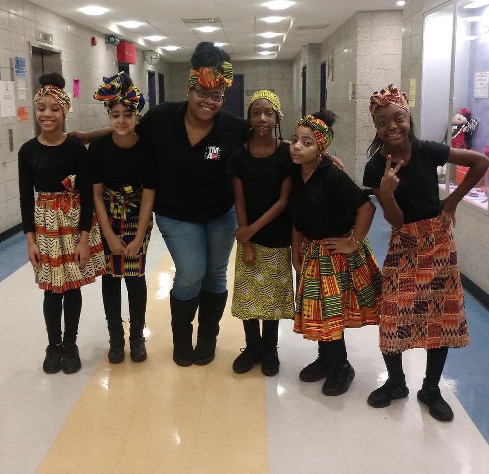 Chilren in a Bronx afte school program