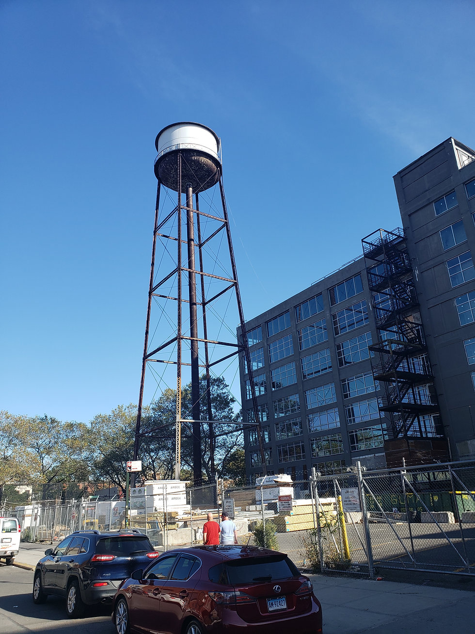 Exterior view of Union Crossing office complex in the Bronx