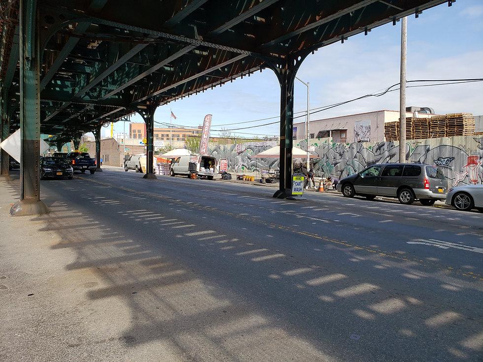 Jerome Avenue car wash in the Bronx