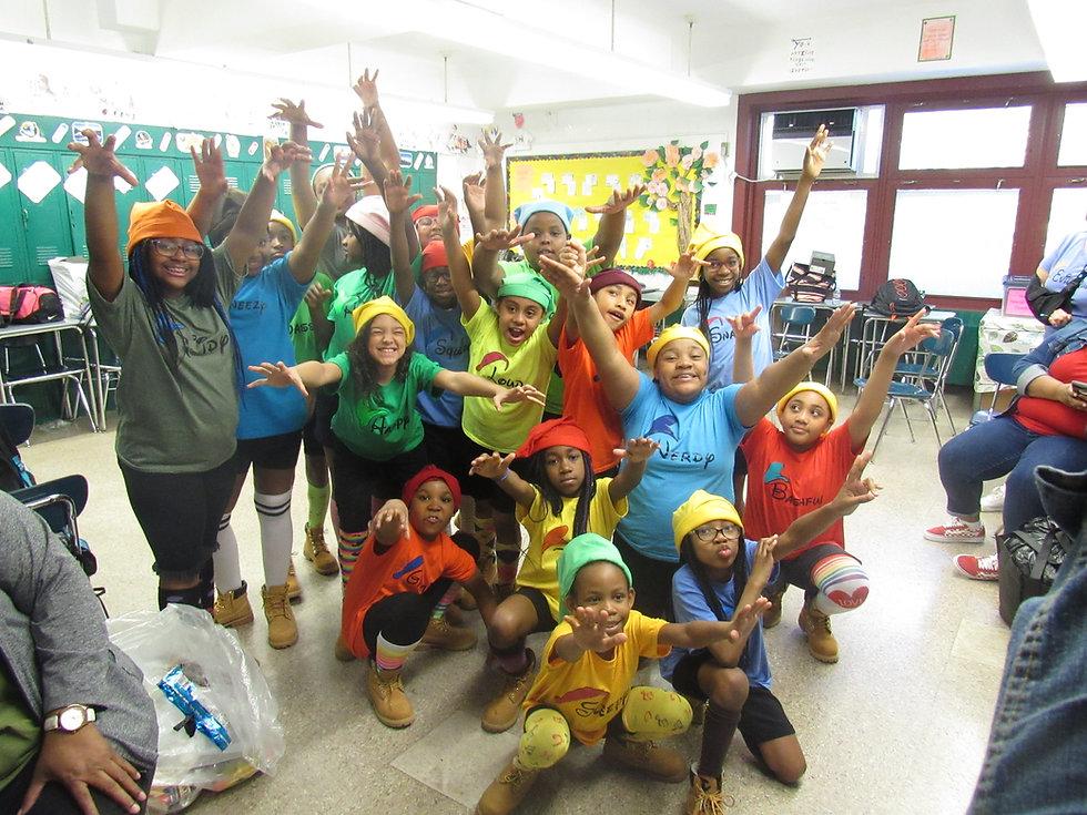Children in a Bronx school