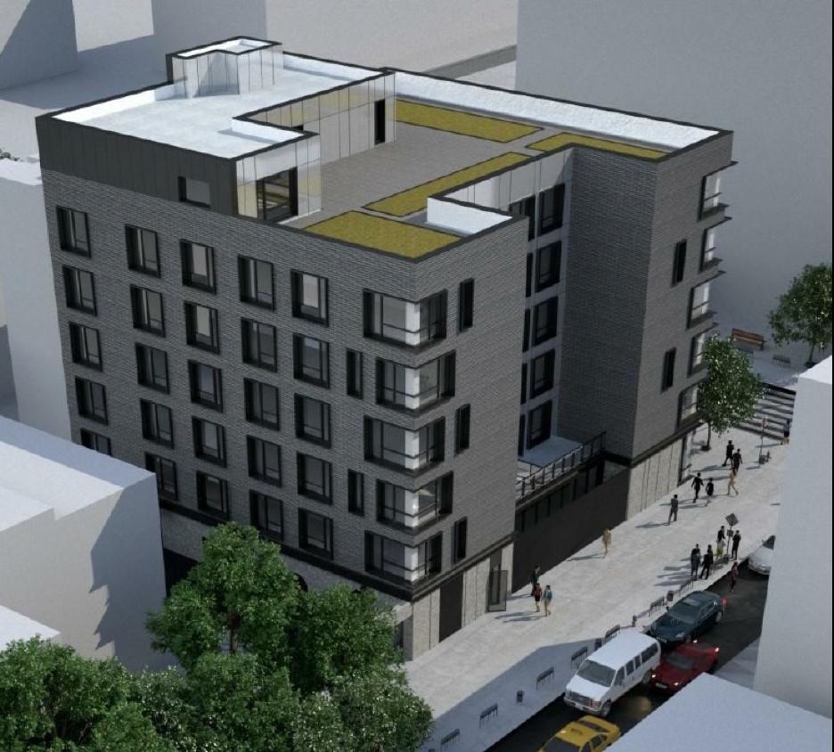 SENDA apartments rendering