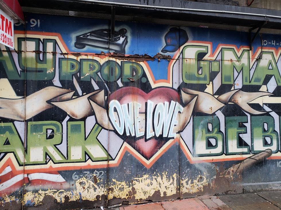 graffiti art in the Bronx