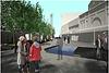 Roberto Clemente Plaza concept rendering