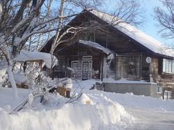 Maroudo Entrance winter