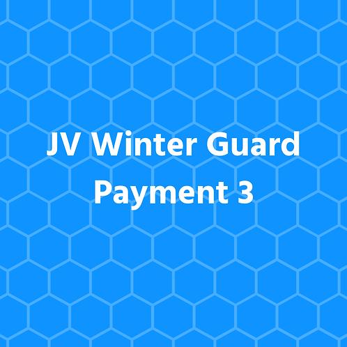 JV Winter Guard - Payment 3