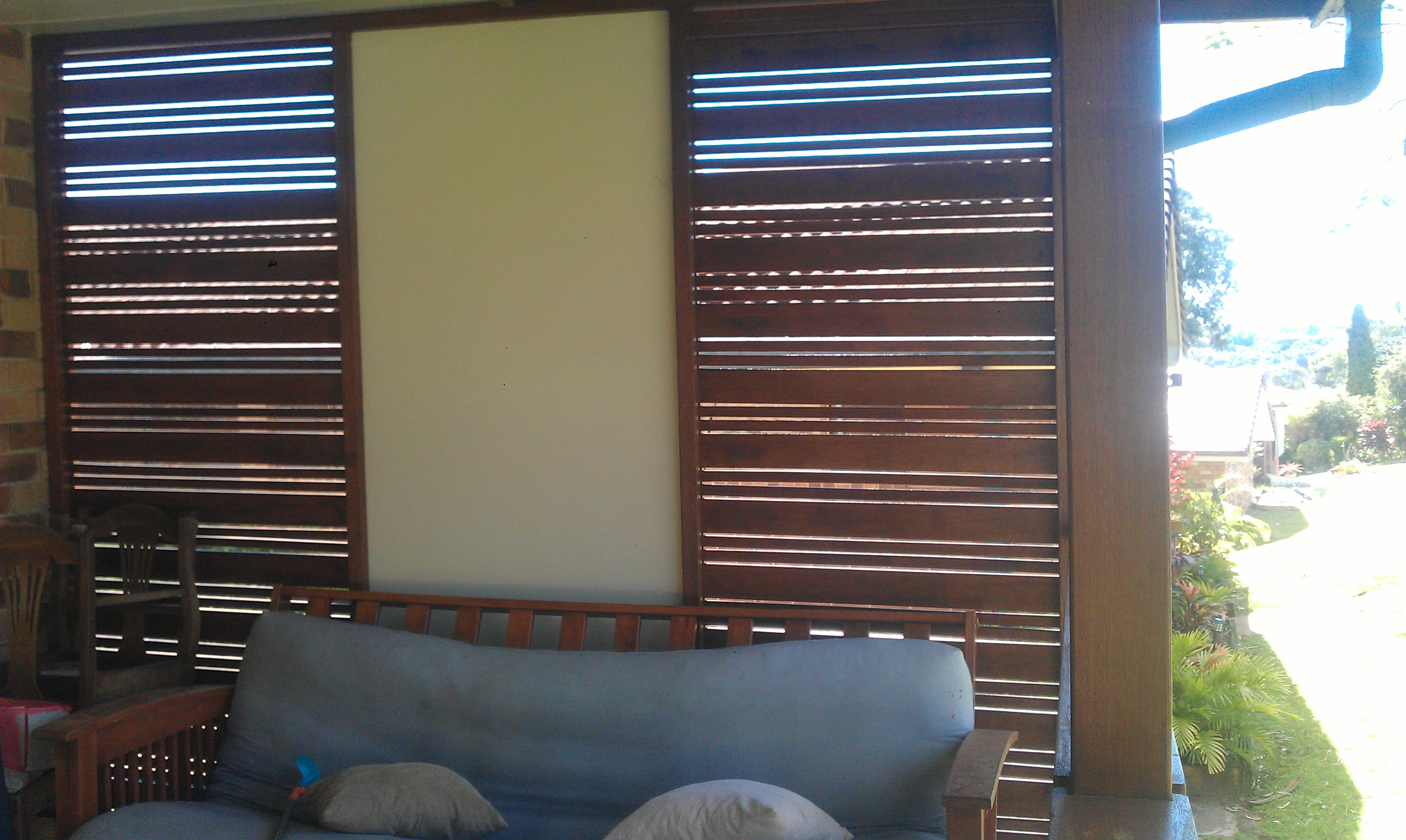 Decking blinds
