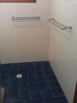Easy access bathroom