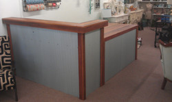 Retail rustic counter