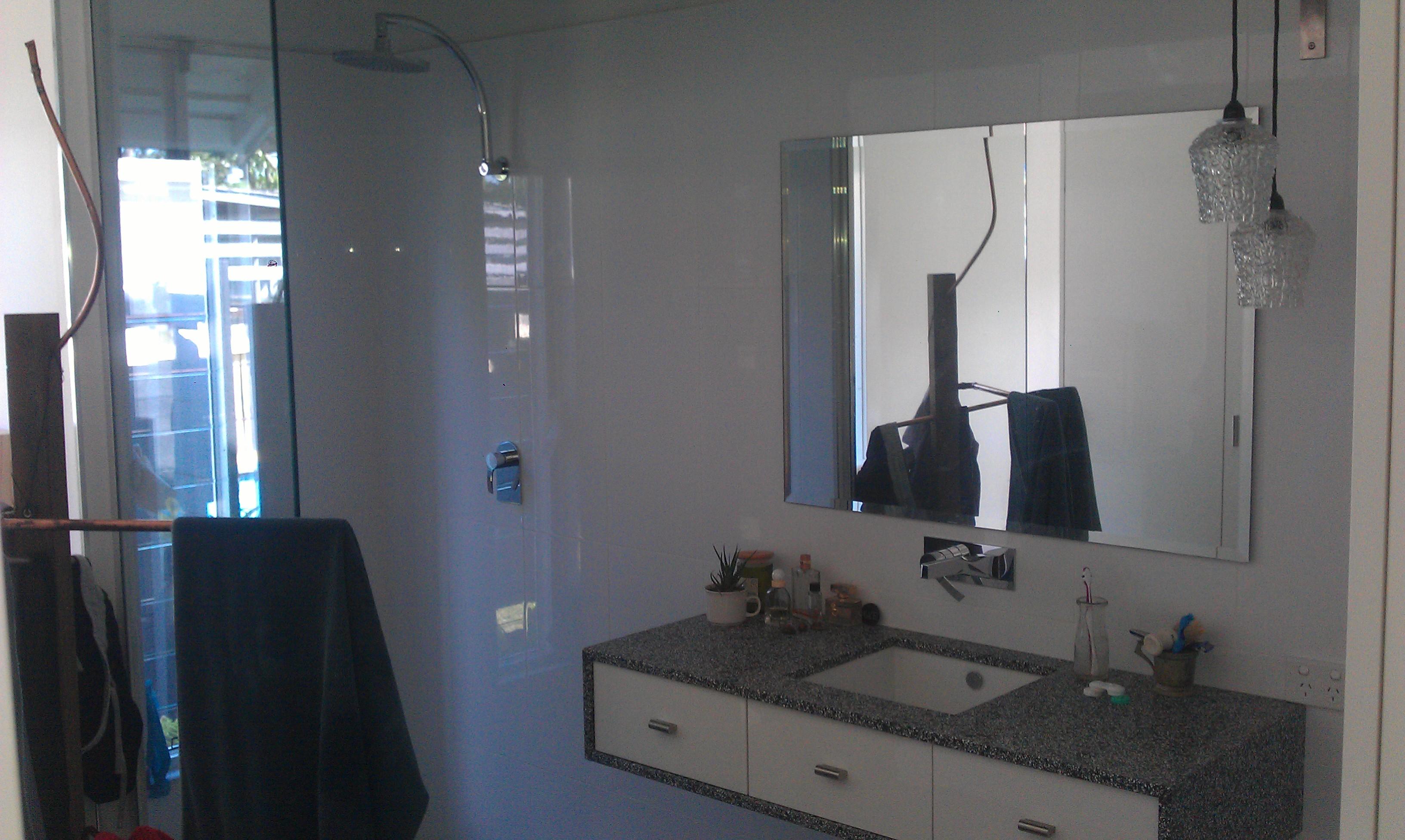 Bathroom - free standing vanity