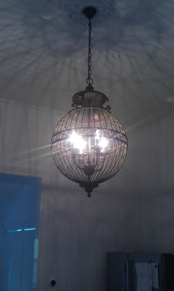 Vintage light feature