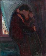600px-Edvard_Munch_-_The_Kiss_-_Google_A
