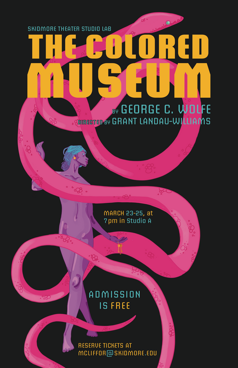Colored Museum Poster