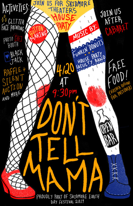 Don't Tell Mama Poster