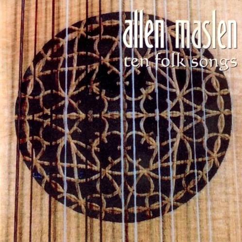Allen Maslen - Ten Folk Songs CD - £5.00