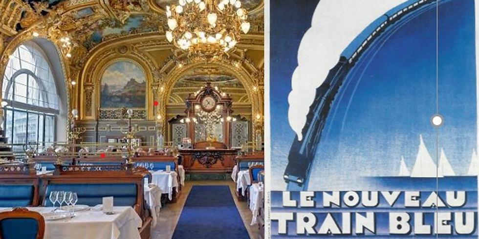Le Train Bleu : une odyssée ferroviaire et gastronomique