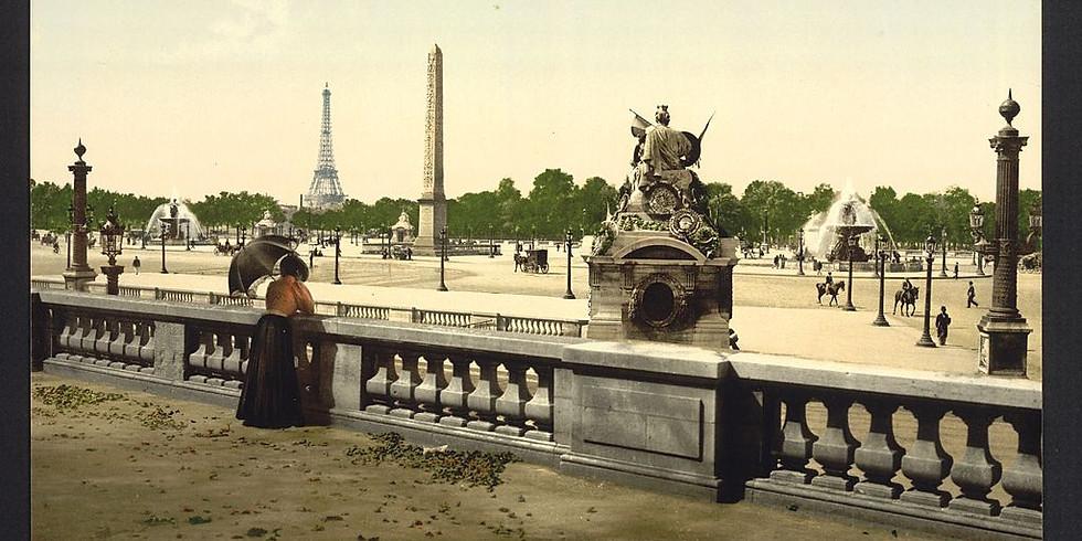 la place de la Concorde et le jardin des Tuileries