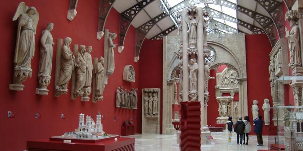 Visite guidée sur place : les chefs-d'œuvre du Moyen-Age français à la Cité de l'architecture et du patrimoine