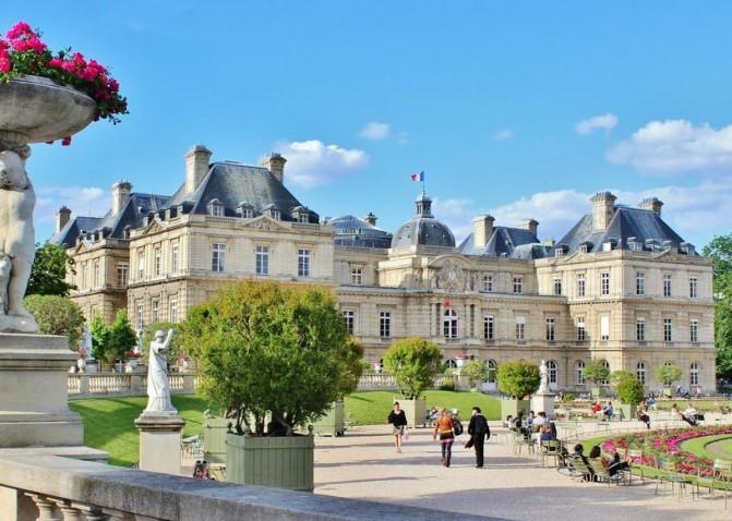 le jardins du Luxembourg (visite guidée sur place)
