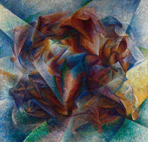 La peinture du futurisme italien