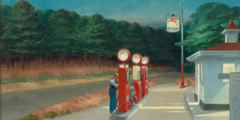 """Hopper, le peintre de l'""""american way of life"""""""