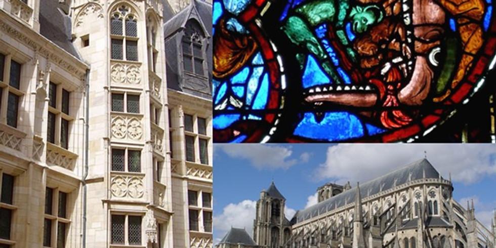 Bourges, de la cathédrale St Etienne au Palais Jacques Cœur: un patrimoine unique