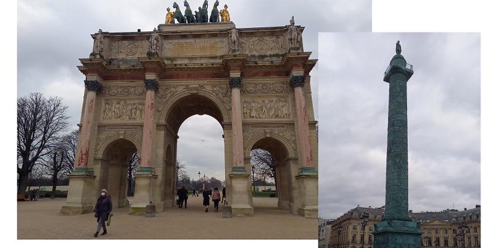 Le Paris de Napoléon Ier (visite guidée sur place)