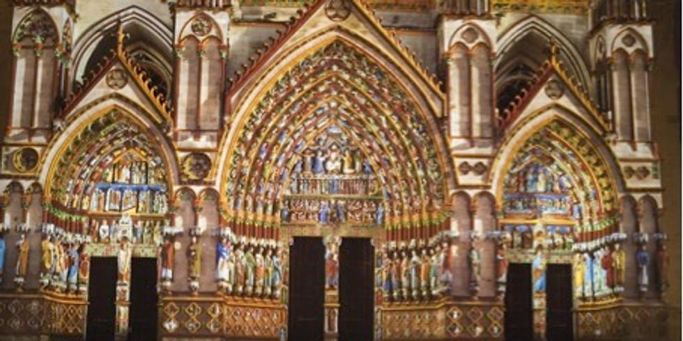 Architecture gothique, la lumière et la couleur