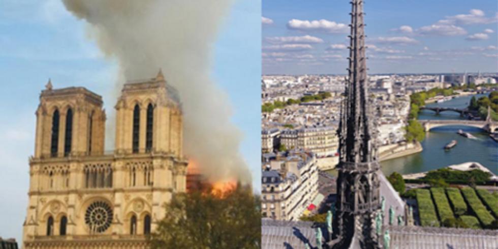 Notre-Dame de Paris d'hier, d'aujourd'hui et de demain.
