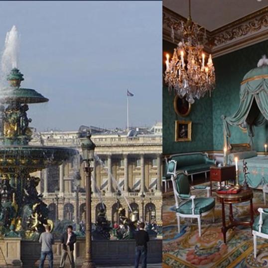 la place de la Concorde et l'Hôtel de la marine