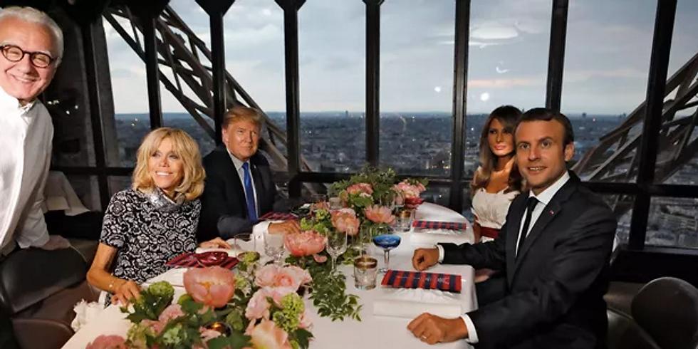 Gastronomie, diplomatie et  patrimoine: arts de la table...politique!