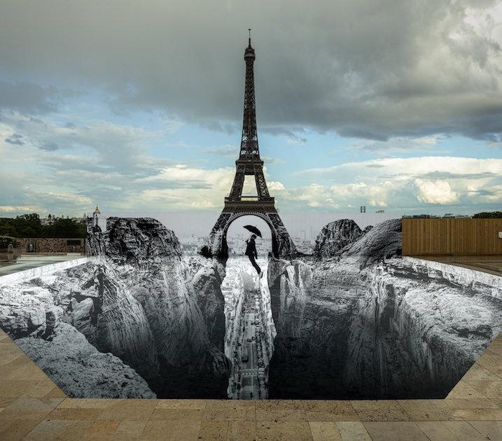 JR, le street art humaniste