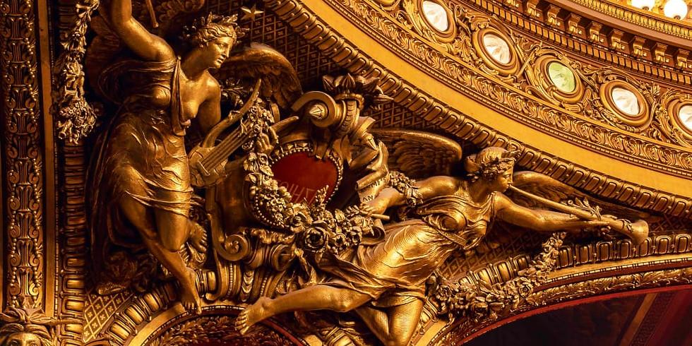 visite famille Mythologie et petits rats au Palais Garnier (1h)