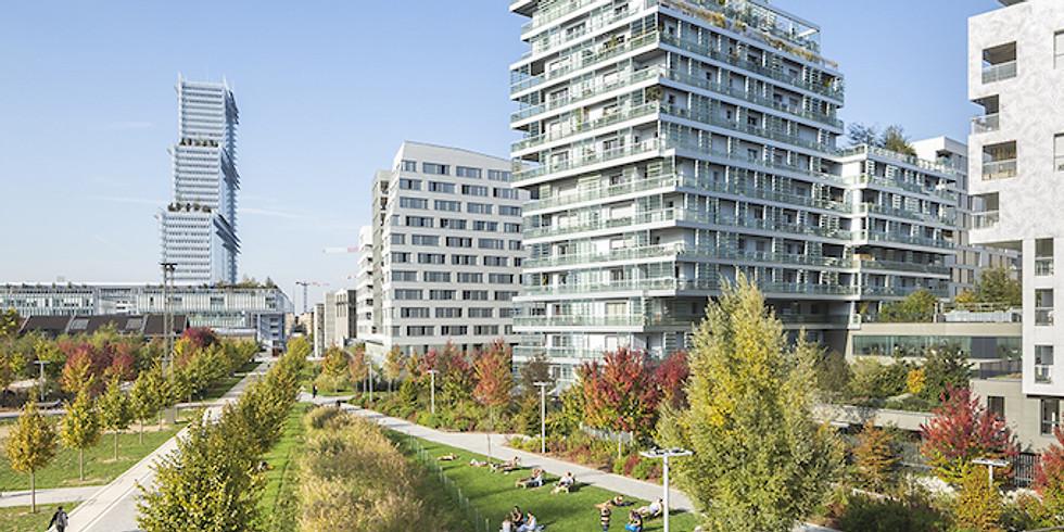 L'écoquartier des Batignolles, le Paris du futur (visite guidée sur place)