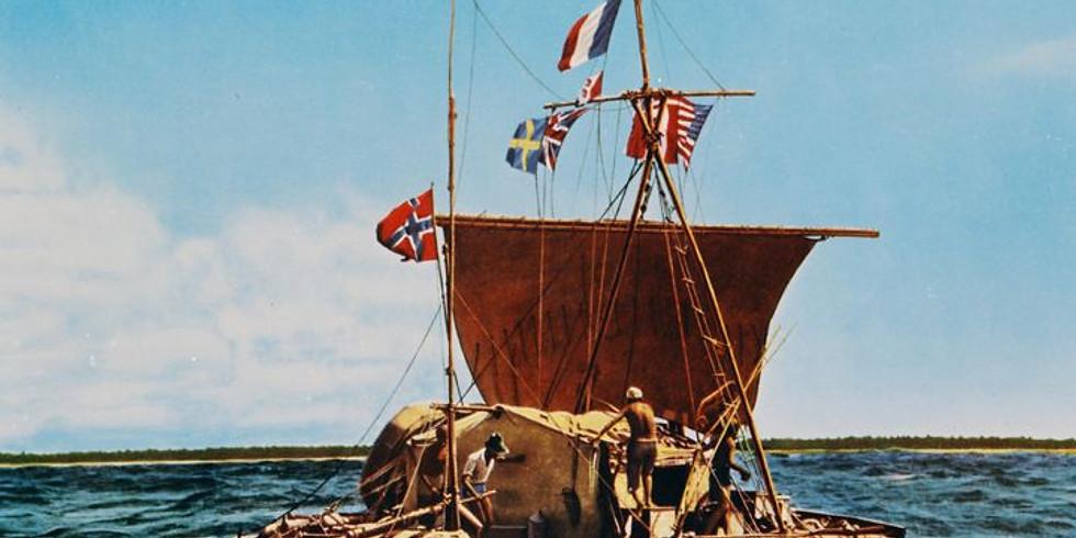 Cycle voyage: Thor Heyerdahl et l'aventure du Kon-Tiki, un voyage mythique entre le Pérou et les Tuamotu...