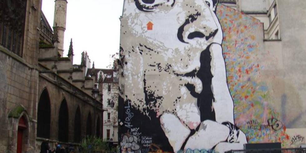 Paris Street Art, l'art de la rue, l'art dans la rue