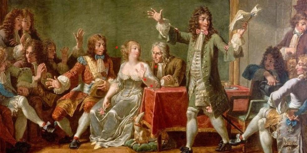 Théâtre et salons littéraires à Paris aux XVII et XVIIIème s.