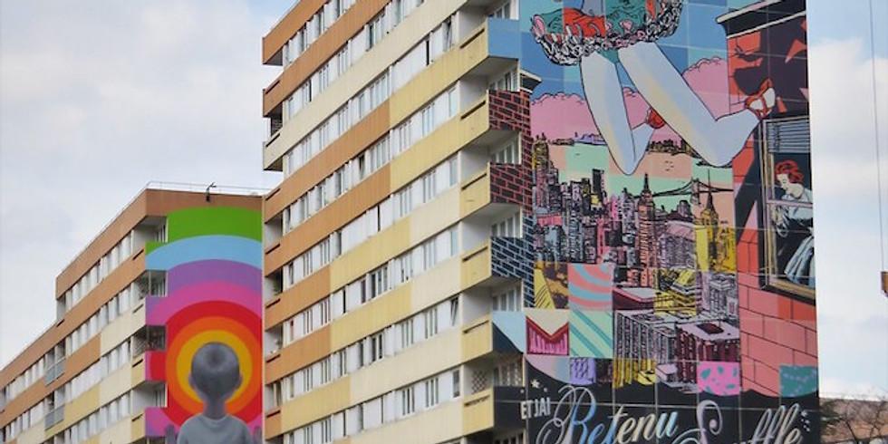 Visite guidée sur place : Boulevard Paris 13, le street art XXL