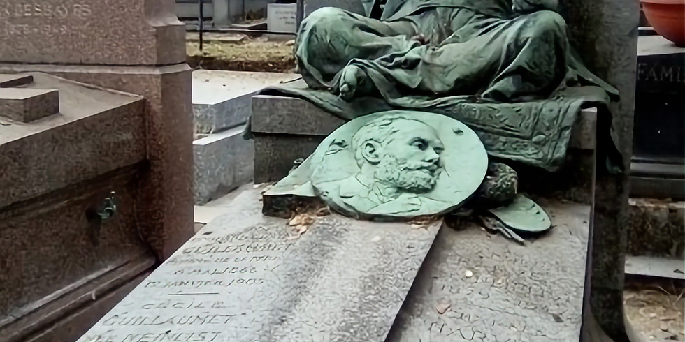 Le cimetière Montmartre (visite guidée sur place) : un cimetière d'artistes, pittoresque et méconnu