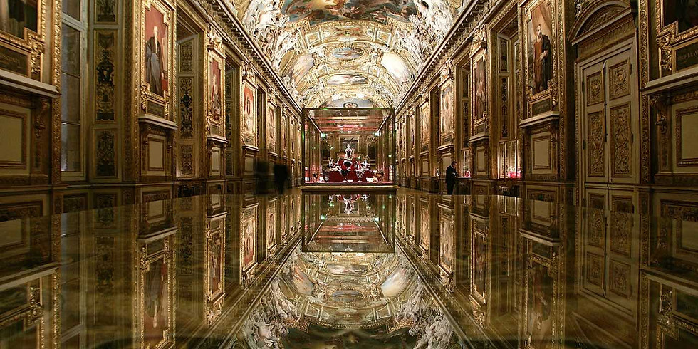 La Galerie d'Apollon et les trésors de la Couronne
